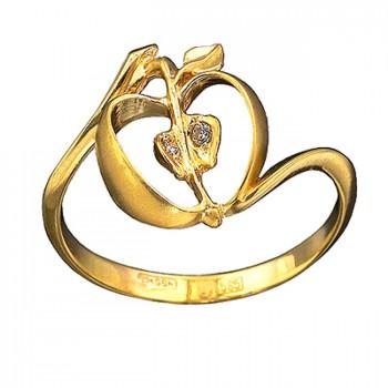 РАЙСКИЕ ЯБЛОЧКИ кольцо из золота с бриллиантами