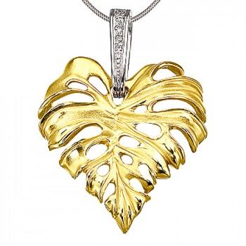 ТРОПИКАНА подвеска из золота с бриллиантами