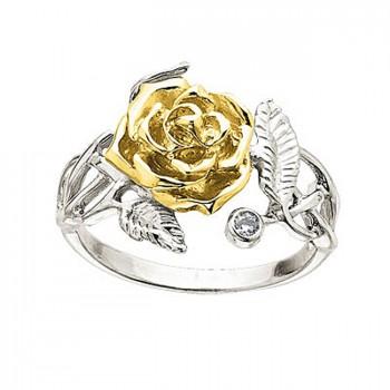 ДЖУЛИЯ кольцо из золота с бриллиантами