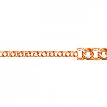 БИСМАРК-ГАРИБАЛЬДИ с родием цепь из золота