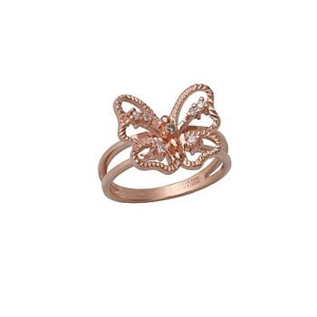 ФЛАЙ кольцо из золота с бриллиантами