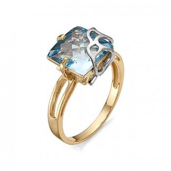ХЕЛЬГА кольцо из золота с топазом