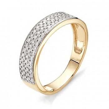 НЕЛЛИ кольцо из золота с фианитами