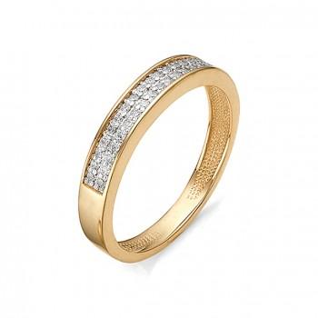 ИННА кольцо из золота с фианитами