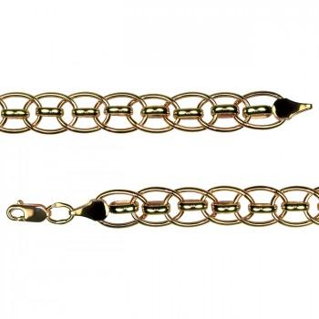 ФАНТАЗИЙНОЕ плетение золотой браслет