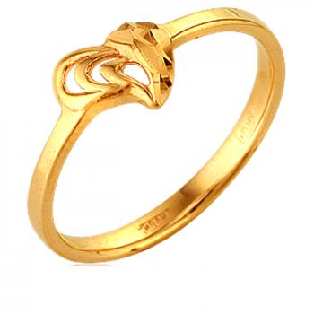 НЕЖНОСТЬ золотое кольцо