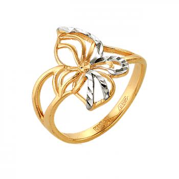 АНЮТИНЫ ГЛАЗКИ золотое кольцо