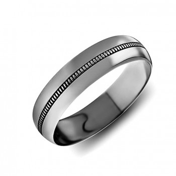 ОБРУЧАЛЬНОЕ кольцо из золота с накаткой