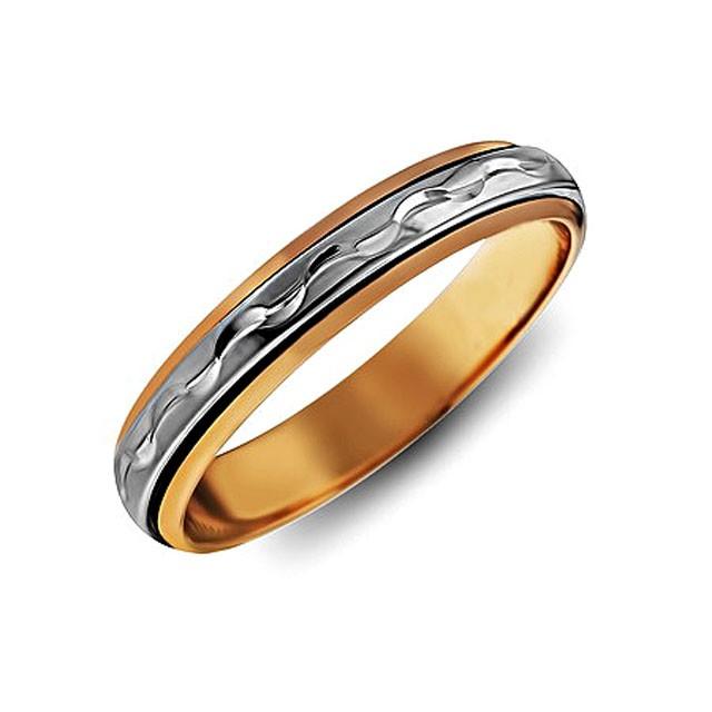 Обручальные кольца на заказ от московского завода по готовым эскиз. кольцо из золота с вращающейся вставкой