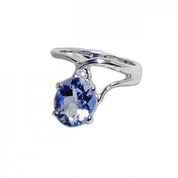 СЛИВА кольцо из серебра