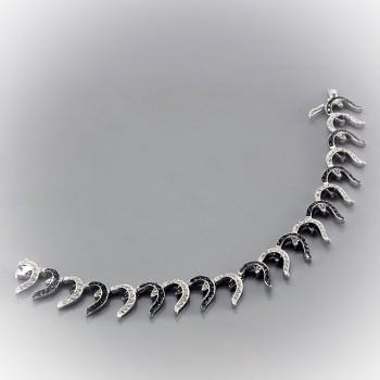 АФРОДИТА браслет из серебра с фианитами