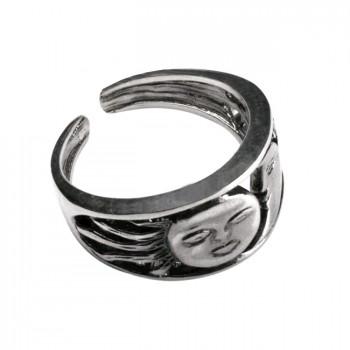 СЕМАРГЛ безразмерное серебряное кольцо