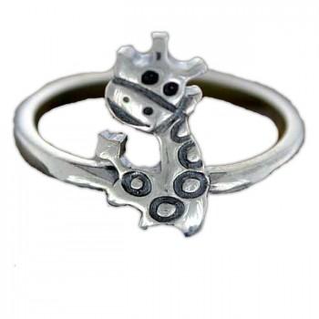 ЖИРАФИКИ кольцо из серебра
