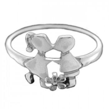 СВИДАНИЕ кольцо из серебра